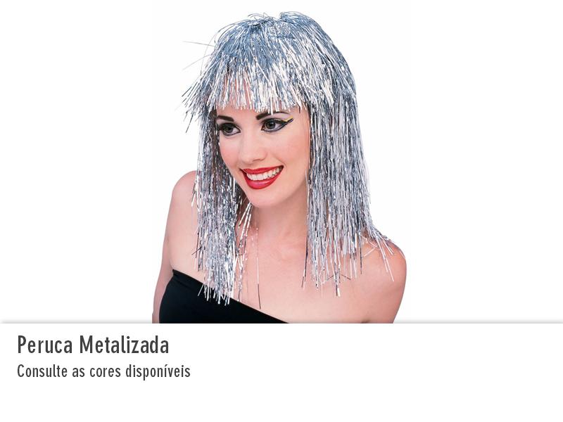 Peruca Metalizada