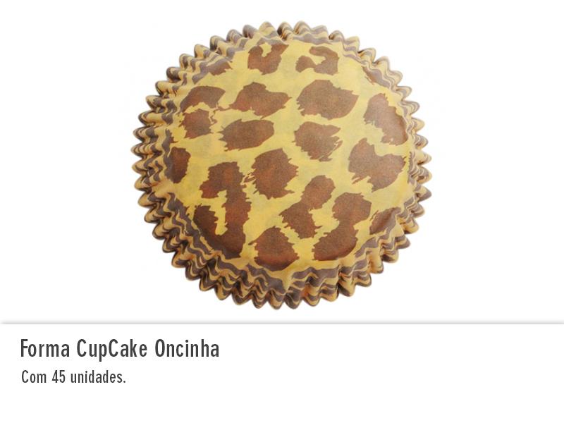 Forma Cupcake Oncinha