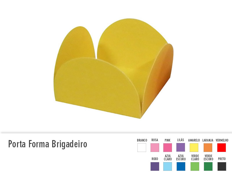 Porta Forma Brigadeiro