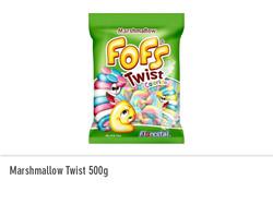 Marshmallow Twist 500g