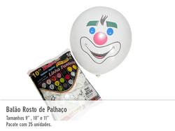 Balão Rosto de Palhaço