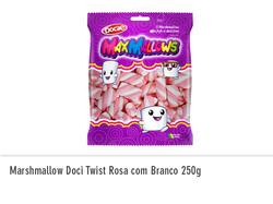 Marshmallow Doci Twist Rosa 250g
