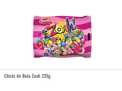 Chicle de Bola Zoah 225g