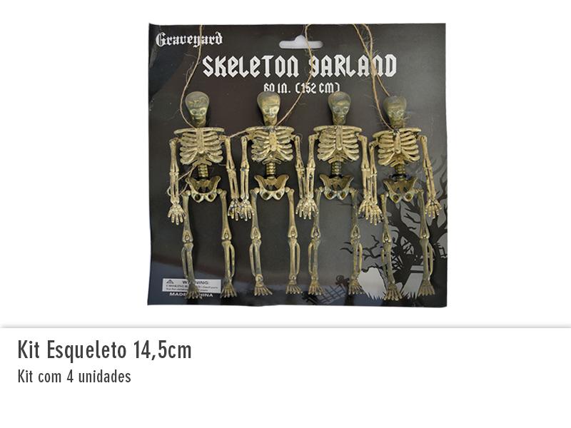 Kit Esqueleto 14,5cm