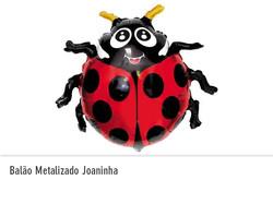Balão Metalizado Joaninha