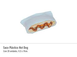 Saco Plástico Hot Dog