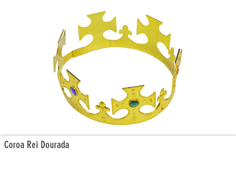 Coroa Rei Dourada