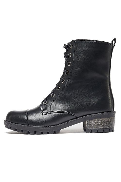 Высокие ботинки GALOLBO (черные)
