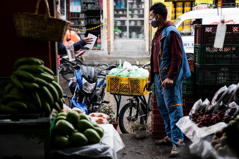 Comerciante en tiempos de pandemia