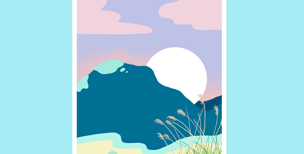 Stationery: Beach Sunset