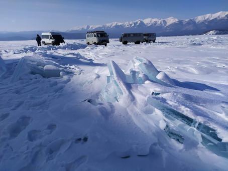 Зимние артобъекты Байкала