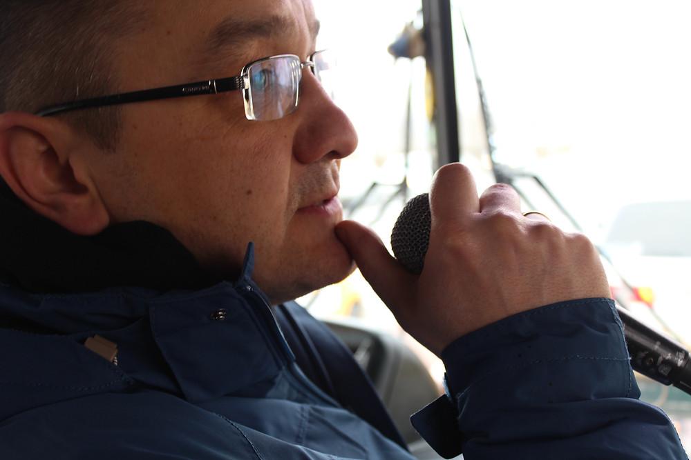 Чингис Аханянов, экскурсии в Улан-Удэ