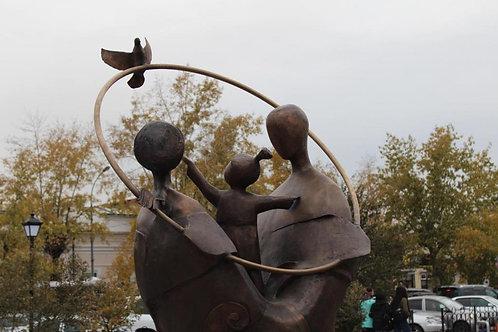 Карточка. Наталия Мясникова. Памятник Бэлэг (Подарок)