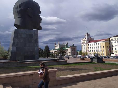 Densité de la population en Sibérie