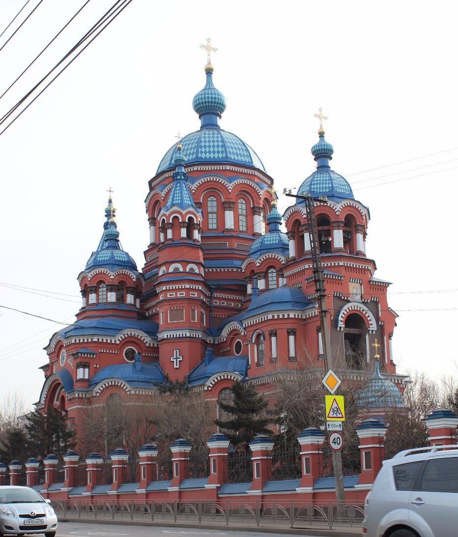 Храм иконы Казанской Богоматери, Иркутск