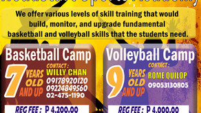 Basketball and Volleyball Academy 2019