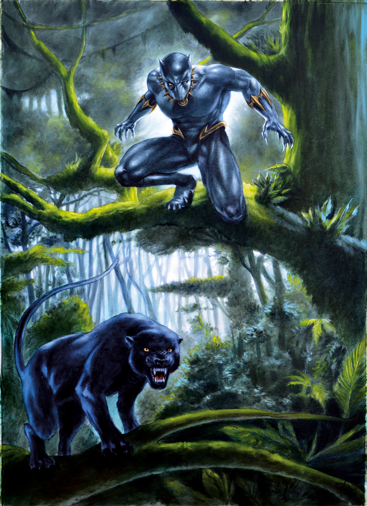 Black Panther tribute