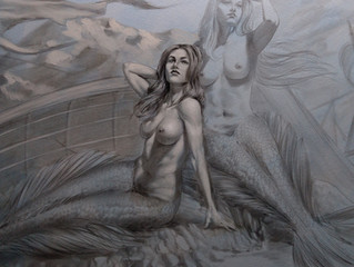 Syrens illustration for the next Blandice