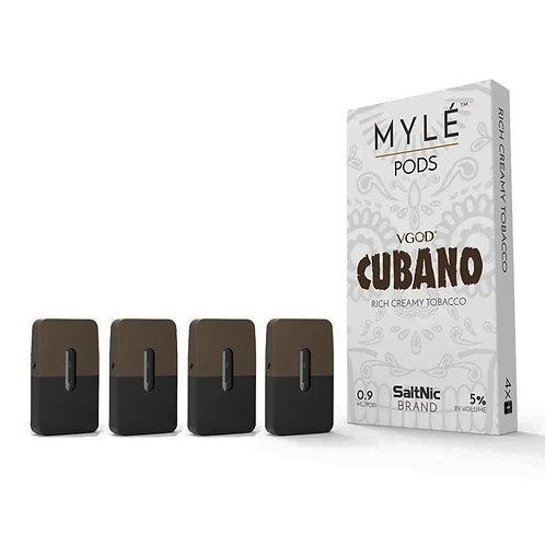 Myle Pods Cubano Tobacco