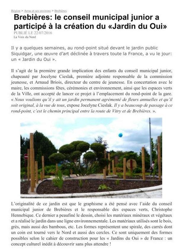 Jardin du UI
