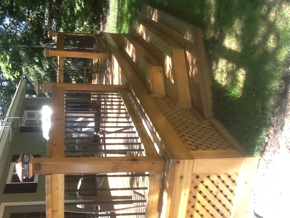 Rons cedar deck #7