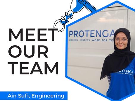 Meet Our Team: Ain Sufi #INWED21