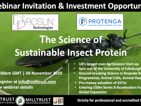 The Science of Sustainable Insect Protein with Roslin Technologies