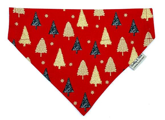 Christmas Tree Dog Bandana