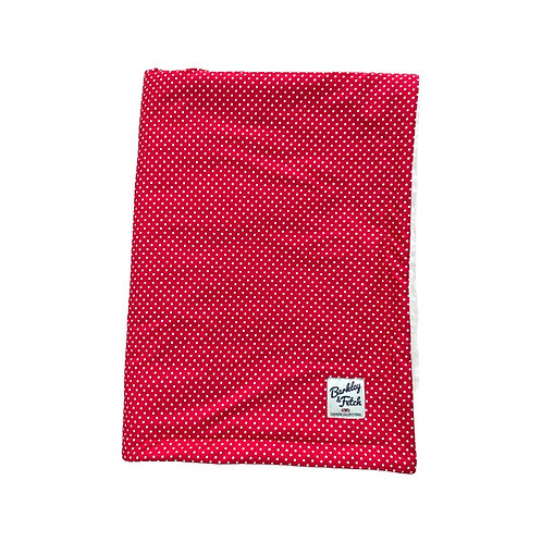 Red Spot Dog Blanket