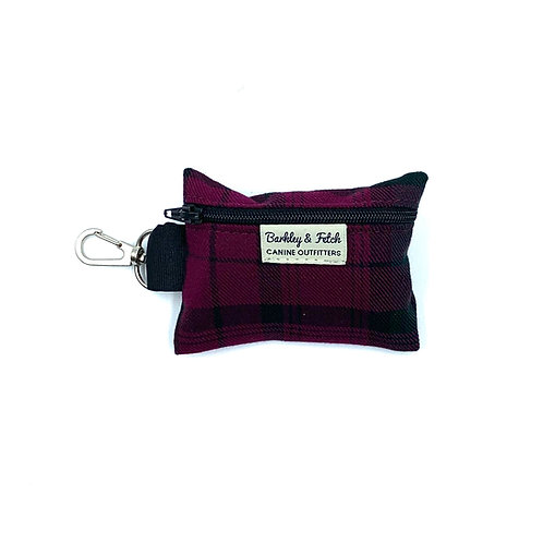 Mulberry Tartan Poo Bag Holder
