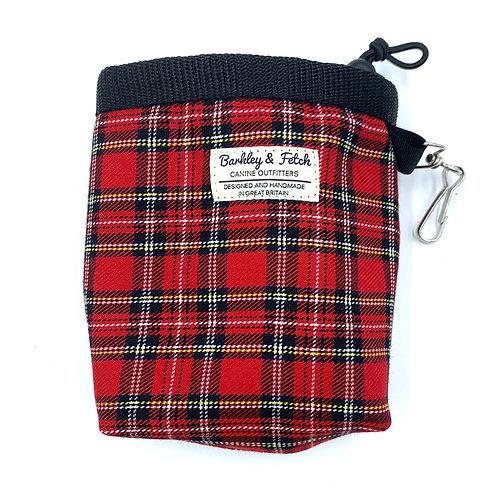 Red Tartan Treat Bag