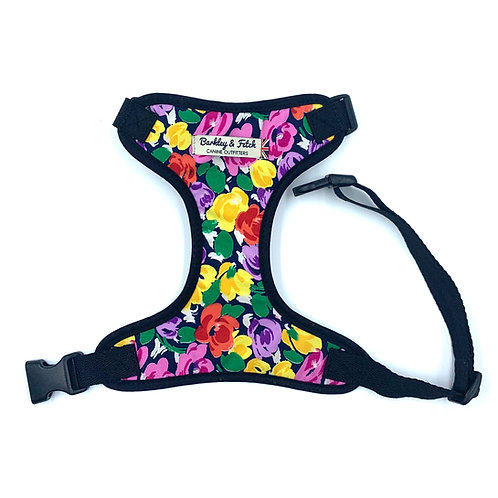 Bright Floral Print Harness