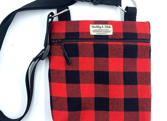 Lumberjack Dog Walk and Treat Bag
