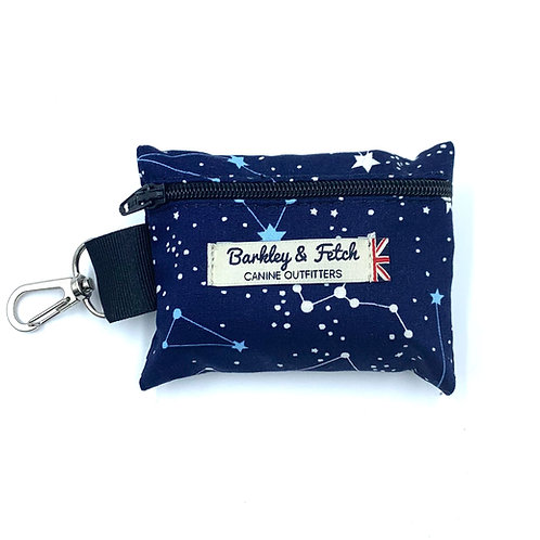 Zodiac Print Poo Bag Holder