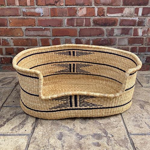 WALEWALE Woven Dog basket