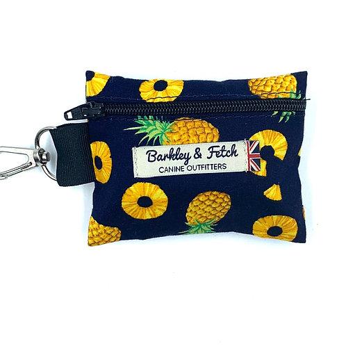 Pineapple Print Poo Bag Holder