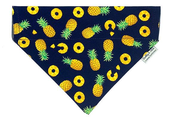 Pineapple Print Dog Bandana