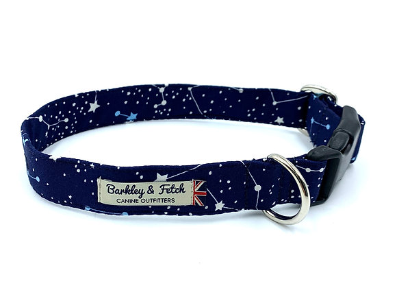 Zodiac Print Dog Collar