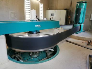 Visite d'un nouvel équipement hydro-électrique, au Moulin Bablou à Allouis