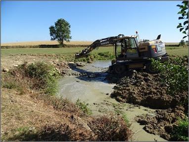 Suppression d'un petit ouvrage hydraulique rustique sur l'Annain