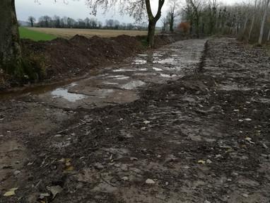 Interruption temporaire de travaux à Baugy