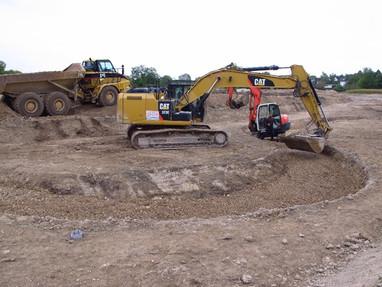 Finalisation des travaux de restauration de l'Yèvre à Gron et Avord