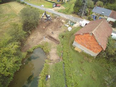 Réouverture d'un segment de la Guette à Mery-es-Bois