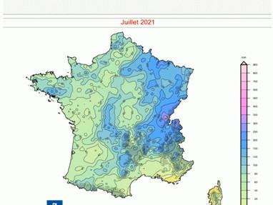 Situation de la ressource sur le bassin de l'Yèvre, début août 2021