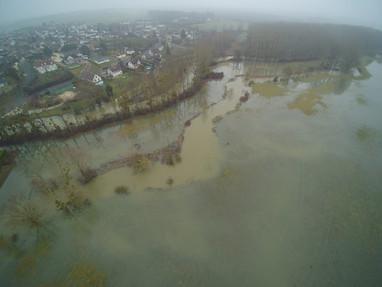 Les crues et inondations du mois de janvier