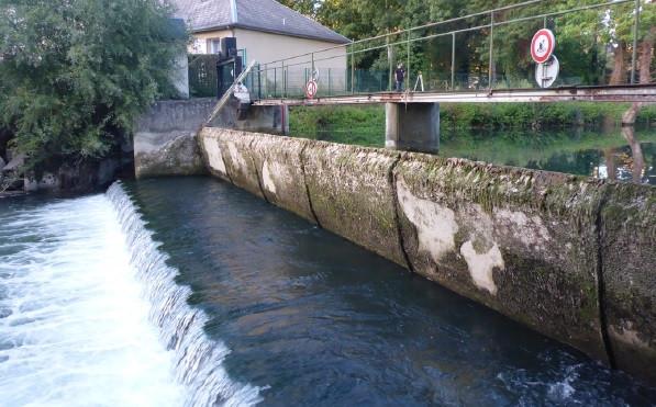 Barrage clapet de la laiterie (Mehun-sur-Yèvre)