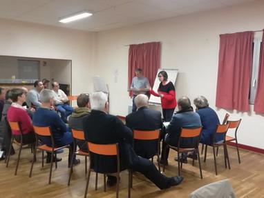 Réunion débat sur l'avenir du SIVY