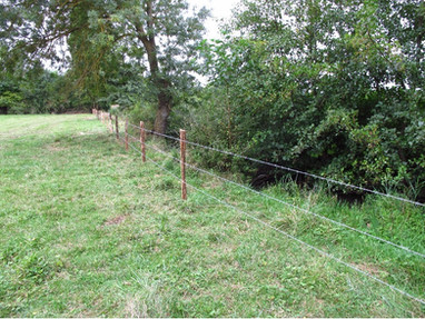 Installation de clôtures et abreuvoirs sur l'Annain et l'Ouatier