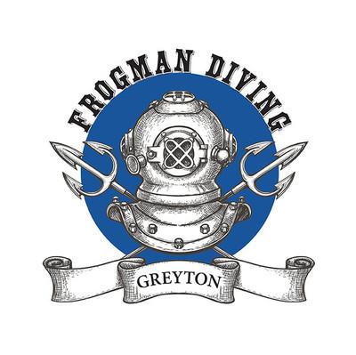 Frogman Diving Logo
