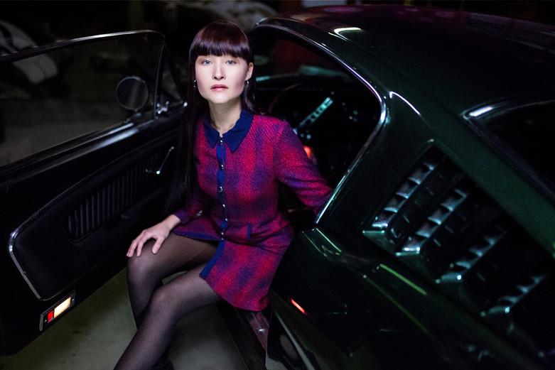 Model: Leona Constanze Outfit: Maje